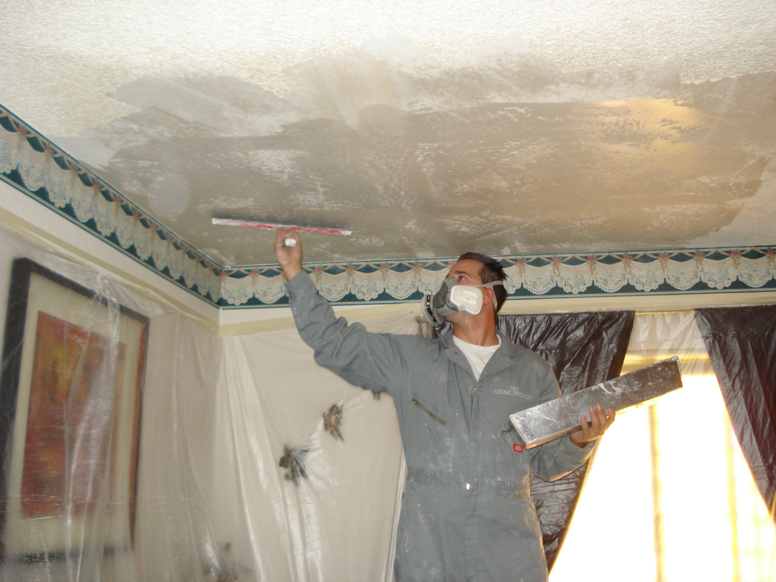 Popcorn Ceiling Removal Chula Vista Ca